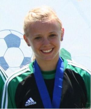 girls club soccer player casey whitfield