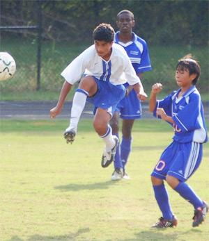 boys club soccer player Vikram Pothuri