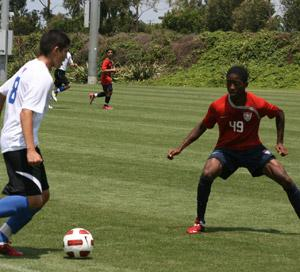 boys national team youth club soccer players fron chivas usa