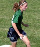 girls youth club soccer player emily bollinger