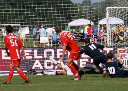 Academy Teams Meet Outside Opposition At Disney Club Soccer