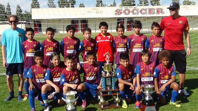 Barcelona In Usa A Youth Club S Ambition Club Soccer Youth Soccer