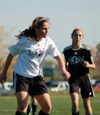 girls club soccer player Tatumn Milazzo