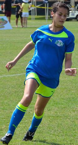 Isabel Damiani, girls club soccer, college recruiting, commitments
