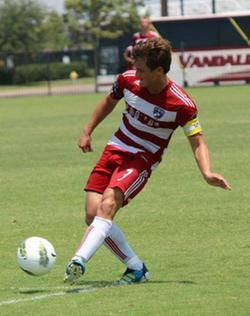 boys club soccer player from FC Dallas