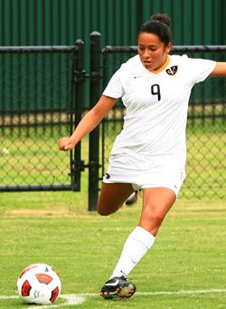vcu women's college soccer player Cristin Granados