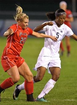 penn state women's college soccer player maya hayes
