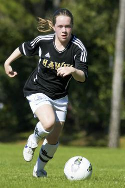 club soccer player michigan hawks michelle manning