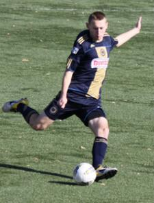 club soccer player Todd Pratzner