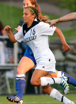 college soccer player Candice Rowland Binghamton