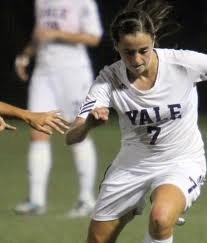 Yale women's college soccer player melissa gavin