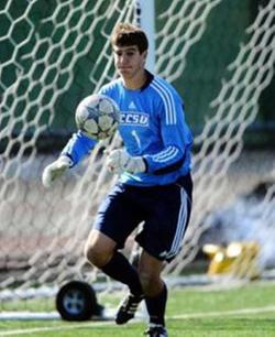 college soccer player Tony Occhialini