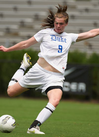 duke women's college soccer player kelly cobb