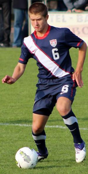 club soccer player cameron lindley