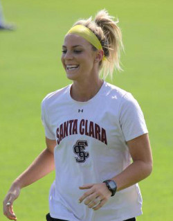 college soccer player Julie Johnston
