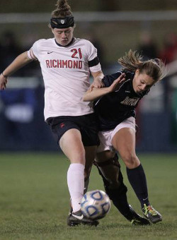 college soccer player Becca Wann Richmond