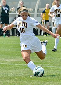 college soccer west virginia kailey utley
