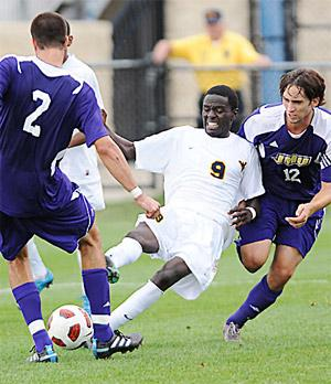 college soccer player Shadow Sebele