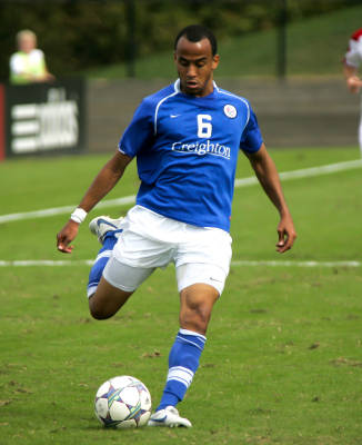 college soccer player dion acoff