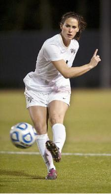 college soccer player Wake Forest Rachel Nuzzolese