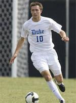 duke men's college soccer player andrew wenger