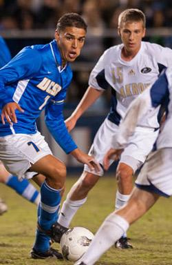 ucsb men's college soccer player luis silva