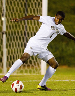 college soccer player Wake Forest Sean Okoli