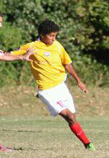 club soccer player hunter danna sc united battery