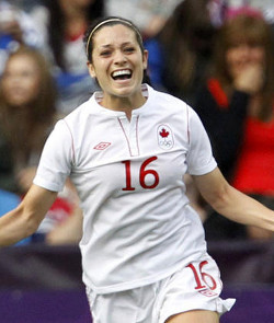 college soccer player Jonelle Filigno Canada