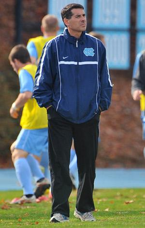 north carolina men's college soccer coach Carlos Somoano
