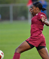 florida state women's college soccer player Tiffany McCarty