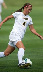 college soccer player Iowa Allie Adam