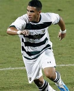 usf men's college soccer player dom dwyer