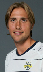 marquette men's college soccer player Axel Sjoberg