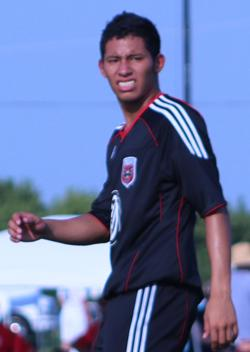 club soccer player Jorge Calix