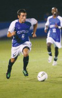 college soccer player Matt Lodge Kentucky