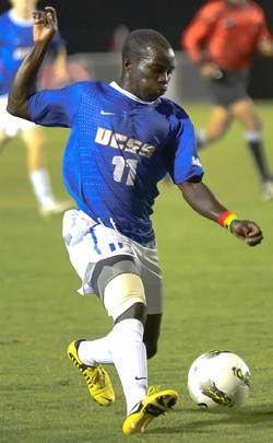 college soccer player UCSB Gauchos Ema Boateng