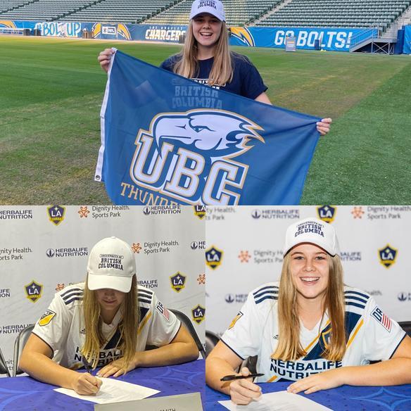 Ella Nuttall-Smith - U of British Columbia | College Soccer